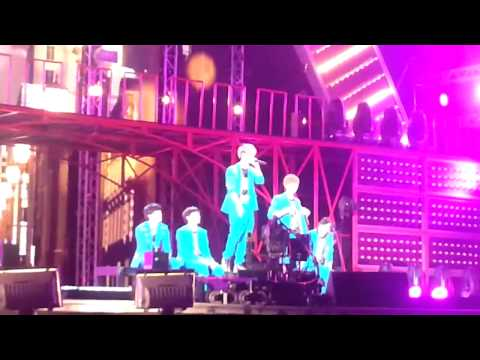 [Fancam] 160313 B1A4 Baby Good Night  Korean Music Wave in Bangkok 2013