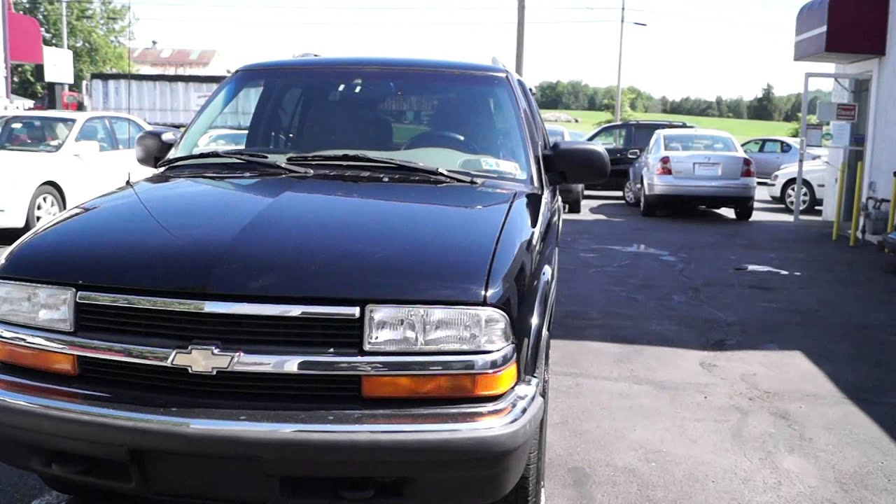 1999 Chevy Blazer Black 100k  YouTube