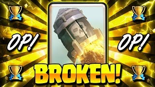 INSANE!! NEW 4 SPELL ROCKET CYCLE DECK IS BROKEN!! - Clash Royale