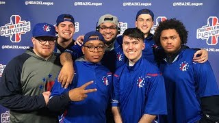 NBA 2K League: 76ers Gaming Earns 1st-Ever Win in the NBA 2K League Playoffs