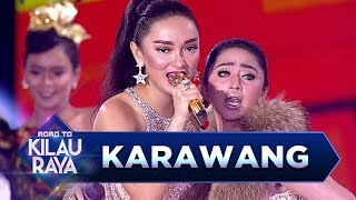 Video Karawang Pecah! Dewi Perssik feat Zaskia Gotik [TALAK TILU] - Road to Kilau Raya (18/3) download MP3, 3GP, MP4, WEBM, AVI, FLV Juli 2018