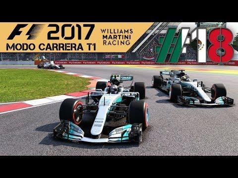 F1 2017 MODO CARRERA #18| LA SUERTE DE VERSTAPPEN