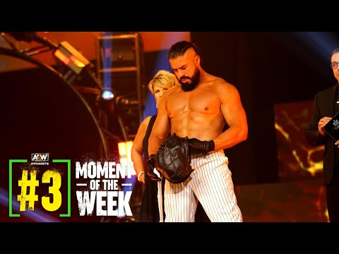MUST SEE: Watch Andrade In Ring Debut in AEW | AEW Dynamite: Road Rager, 7/7/21