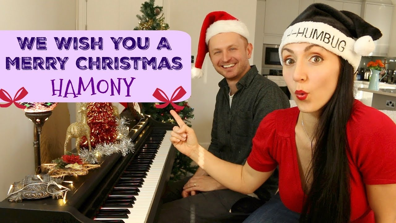 Christmas Harmony Movie.Sing In Harmony We Wish You A Merry Christmas Learn Fantastic Harmonies