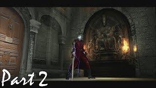 Devil May Cry HD Remaster S-Rank Walkthrough - Mission 2: Judge of Death