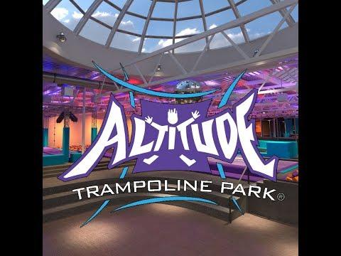 Altitude Trampoline Park - Åpner Snart Reklame