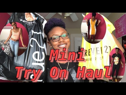 18e365a8690 FOREVER 21+RUE 21 TRY ON HAUL