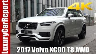 2017 Volvo XC90 T8 AWD R-Design - Detailed Walkaround, Review and Test Drive!