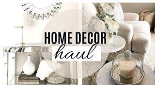 HOME DECOR HAUL! NEW HOME DECORATING IDEAS!