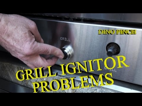 Fix Ignitor Button On Gas Grille Youtube