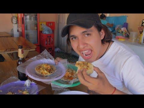 Probando Las Pupusas Salvadoreñas   El Salvador