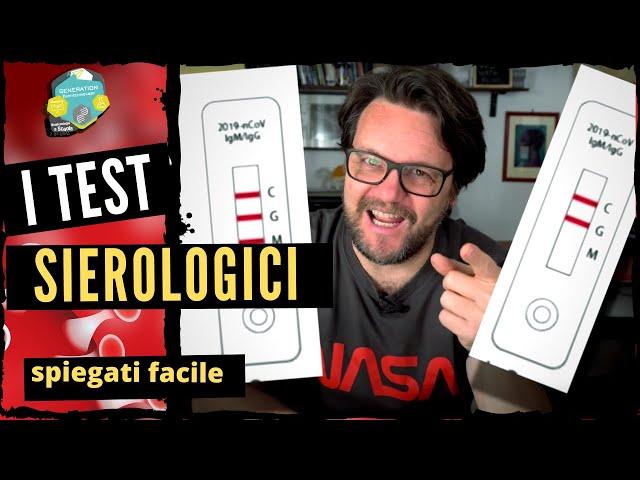Il test sierologico spiegato facile//serve a capire se sei immune?