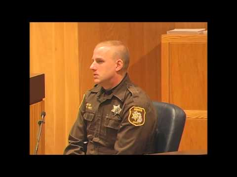 Cross Examination of Officer in Murder Case
