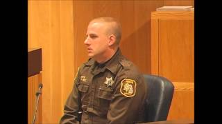 Cross Examination of Officer in Murder Case
