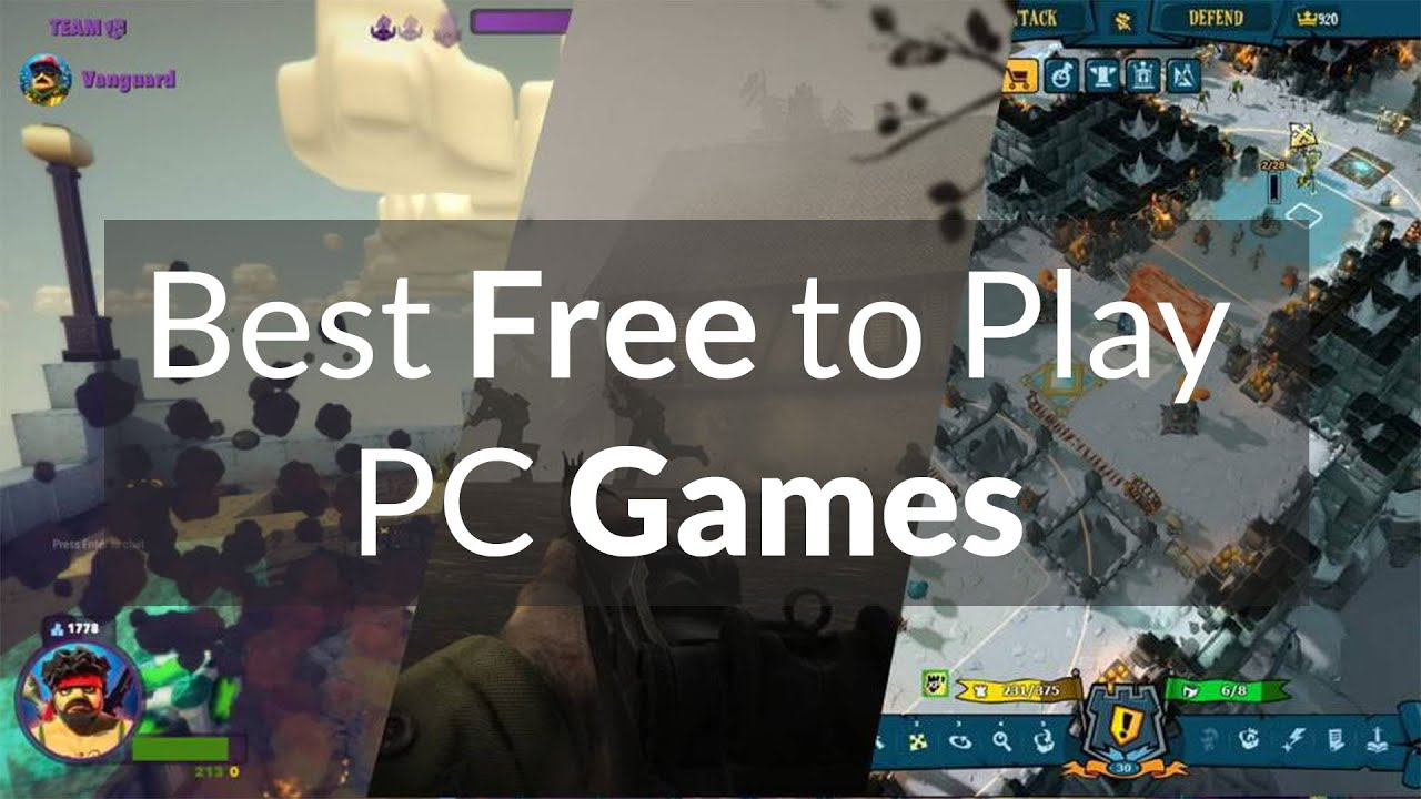 Best Games For Free : Best free to play pc games gamesworld