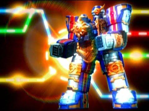 Power Rangers Mystic Force - Solar Streak Megazord | Solaris Knight | Train