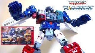 【 ザ☆ヘッドマスターズ】全高約600mm!! フォートレスマキシマス ヲタファのトランスフォーマーレビュー / Transformers Titans Return FORTRESS MAXIMUS