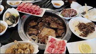 THE BEST ALL YOU CAN EAT KOREAN BBQ! WAREHOUSE BUFFET!