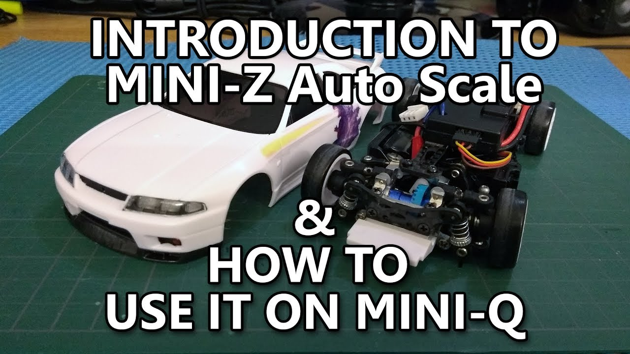 Introduction To Mini Z Auto Scale White Body How To Use It On Mini