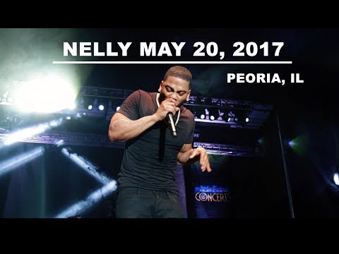 DJ McFly Opens for Nelly at Peoria, IL Riverfront - May 20, 2017