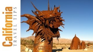 Metal Sculptures - Borrego Springs