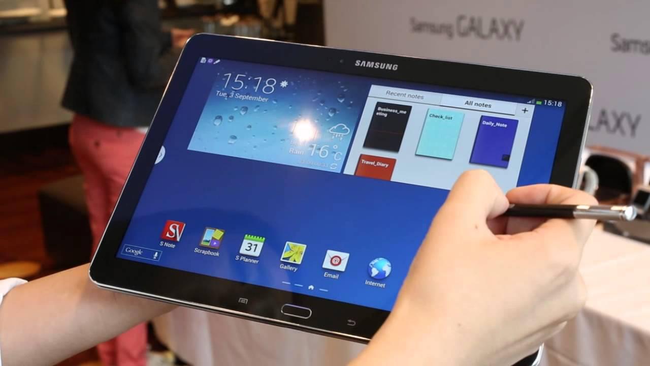 Ifa 2013 Samsung Galaxy Note 10 1 2014 Edition Youtube