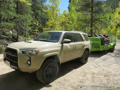 toyota 4runner trd pro off road review with atv 39 s in rockies youtube. Black Bedroom Furniture Sets. Home Design Ideas
