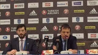 Anadolu Efes-Khimki Basın Toplantısı