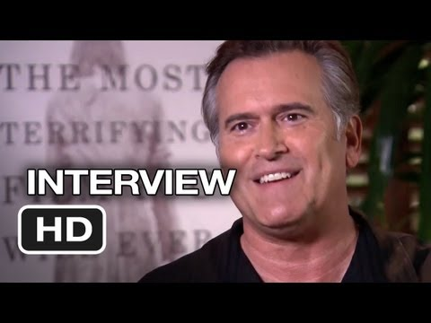 Evil Dead Interview - Bruce Campbell (2013) - Horror Movie HD