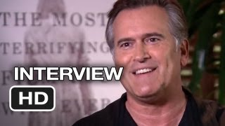 Evil dead interview - bruce campbell (2013) horror movie hd