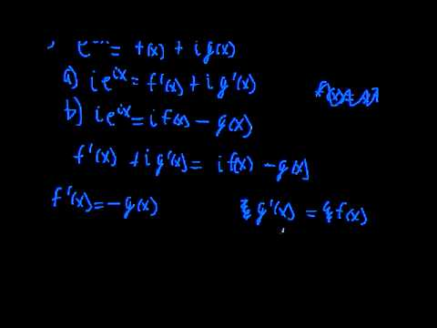 Euler's Formula Proof (Calculus) - YouTube