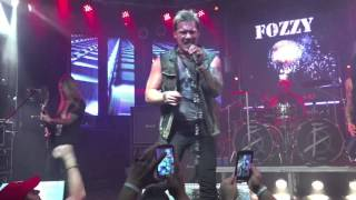 Lights Go Out Fozzy  in  Fort Lauderdale 12/10/14