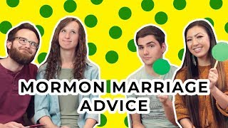 The BEST and WORST Mormon marriage advice!