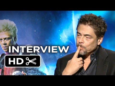 Guardians of the Galaxy Interview - Benicio Del Toro (2014) - Marvel Space Adventure HD