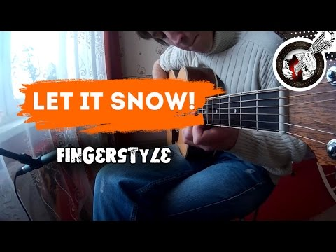 Let it snow on guitar | Christmas fingerstyle
