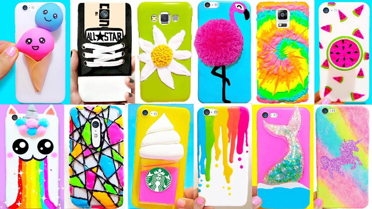 15 Diy Phone Cases Summer Inspired Easy Cute Phone Projects