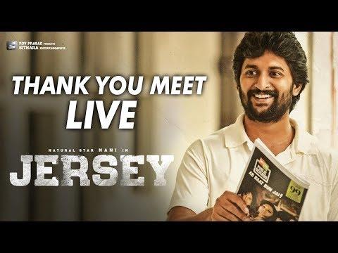JERSEY Thank You Meet LIVE | Nani, Shraddha Srinath | Anirudh | Gowtam Tinnanuri