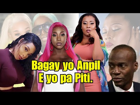 Ayisyen Kraze Dèyè Blondedy - Misty Jean Bay Prezidan Jojo Plezi |Bagay Yo Anpil.