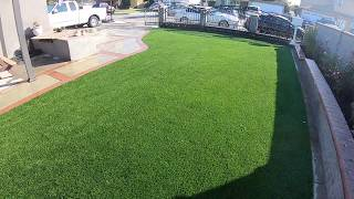 Completed Artificial Grass Install in 2 Days