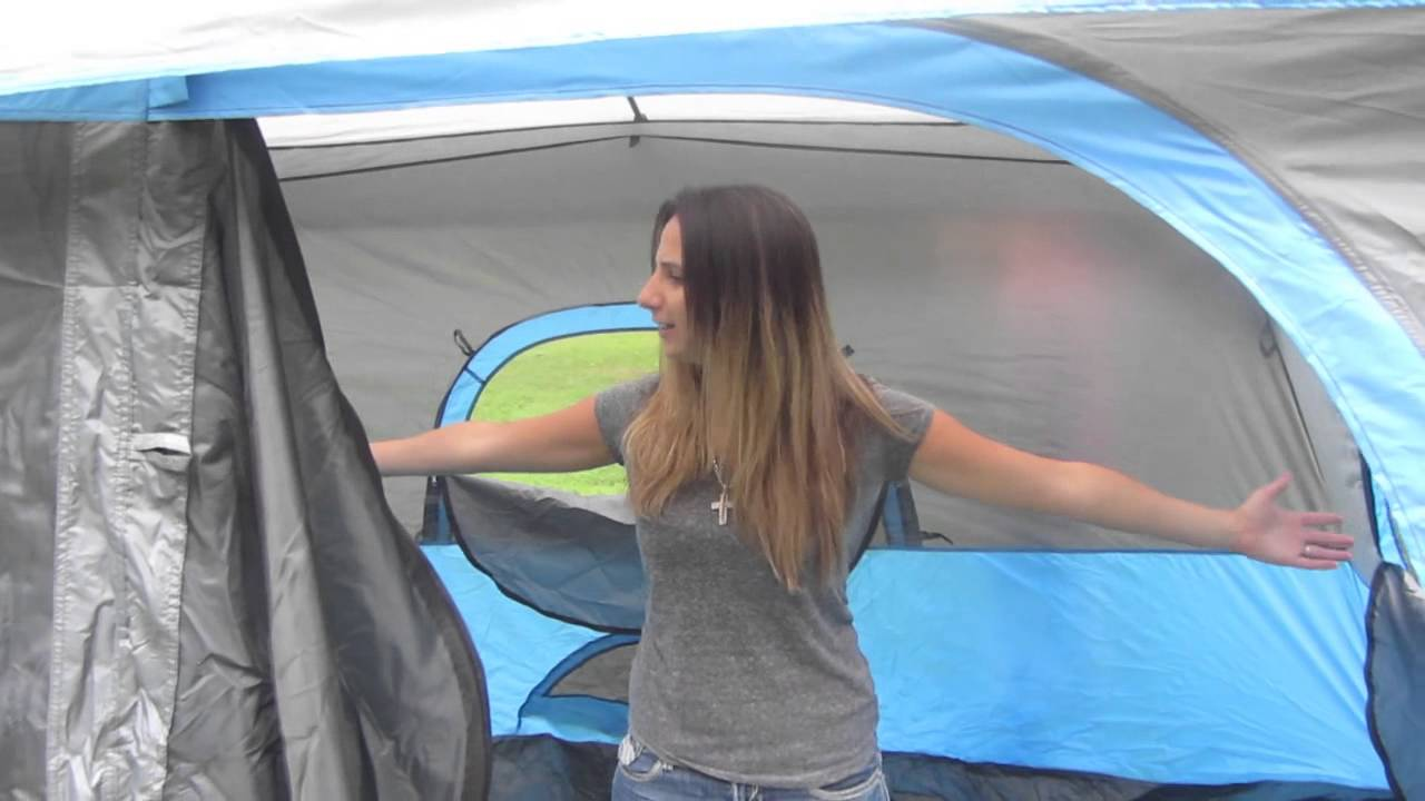 Tour The Tent & Luges CRIB Edition !! Tour The Tent - YouTube