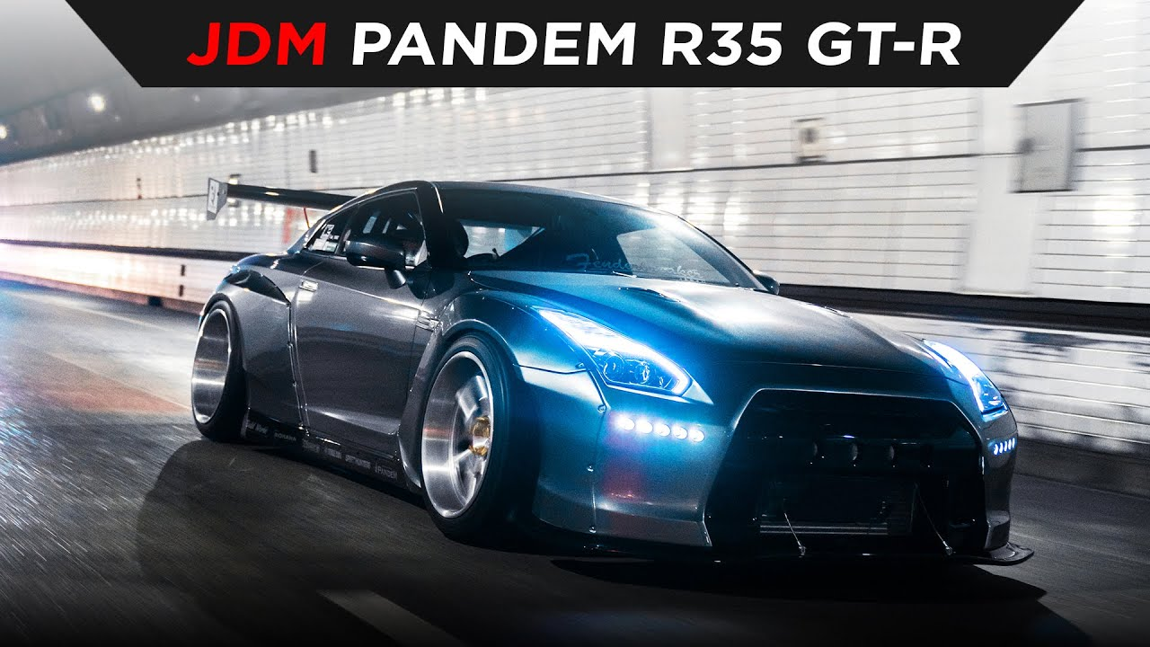 PANDEM NISSAN R35 GT-R   TOKYO, JAPAN   TOYO TIRES   [4K60]