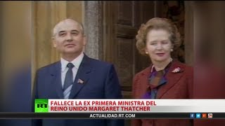 Muere Margaret Thatcher tras un accidente cerebrovascular