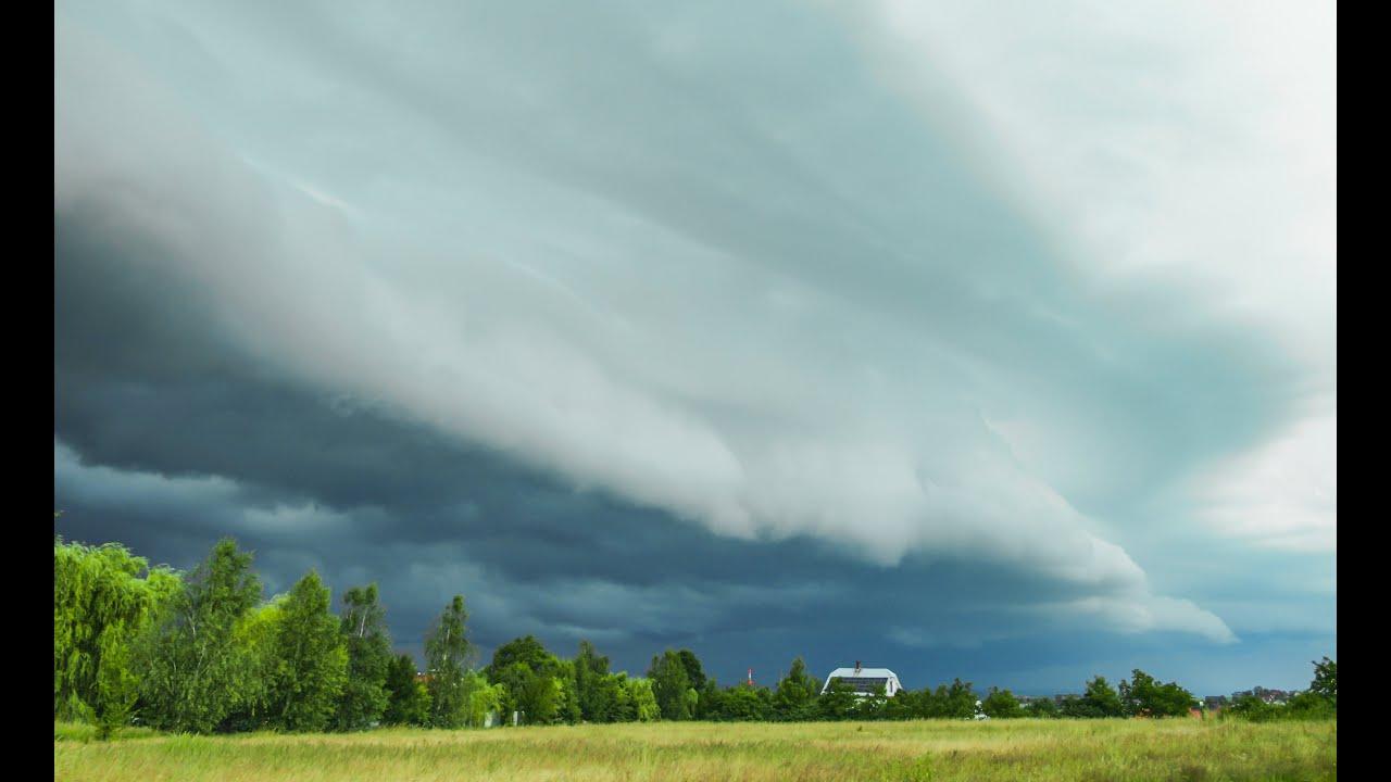 Shelf Cloud Burza Bielsko-Biała/Czaniec - 2.07.2020
