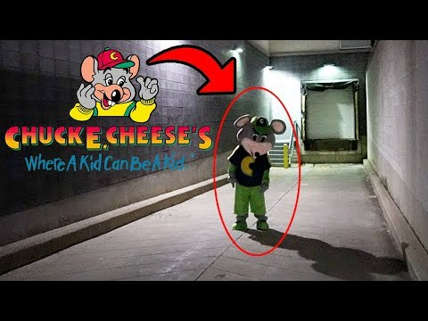 DONT GO TO CHUCK E CHEESE OVERNIGHT OR CHUCK E CHEESE.EXE WILL APPEAR | CHUCK E CHEESE GHOST IS REAL