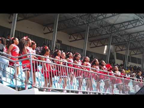 Adi Cakobau School Cheerleaders At The 2019 Coca-Cola Games