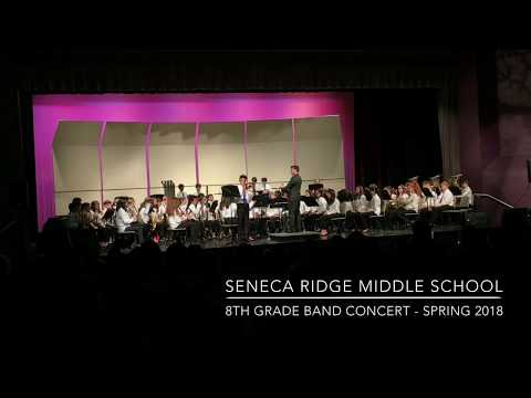(1 of 2 Full Concert) Seneca Ridge Middle School Band Concert -  Spring 2018