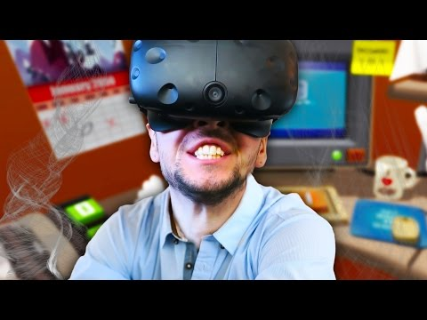 NEED MORE MEMES! | Job Simulator #4 (HTC Vive Virtual Reality)