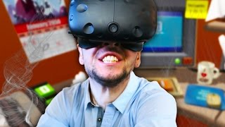 NEED MORE MEMES! | Job Simulator #4 (HTC Vive Virtual Reality)
