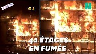 Les images du gigantesque incendie à Draguignan