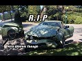 MUSTANG GT DESTROYED - Right After New Wheels